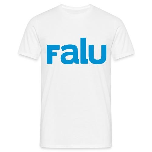 T-Shirt Herr, tvåfärgstryck - T-shirt herr