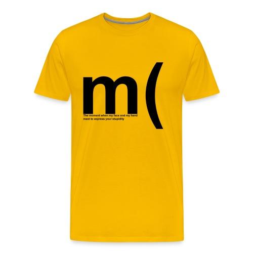 facepalm - Männer Premium T-Shirt