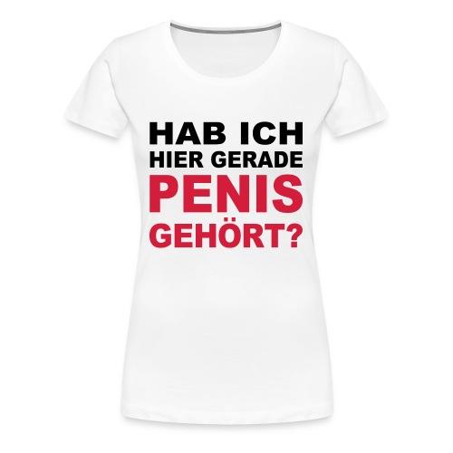 SexShirt - Frauen Premium T-Shirt