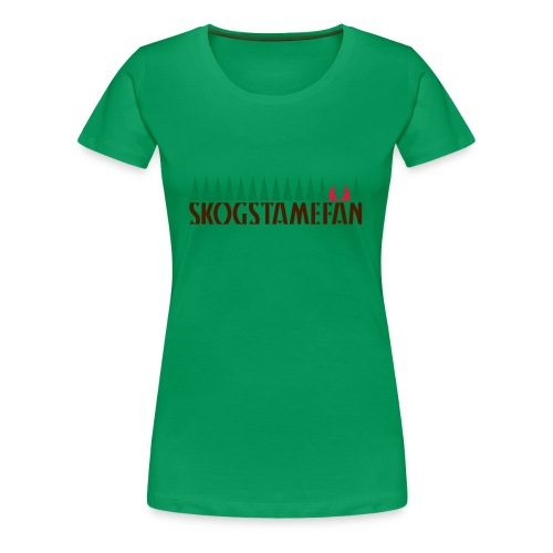 SKOGSTAMEFAN T-shirts - Premium-T-shirt dam