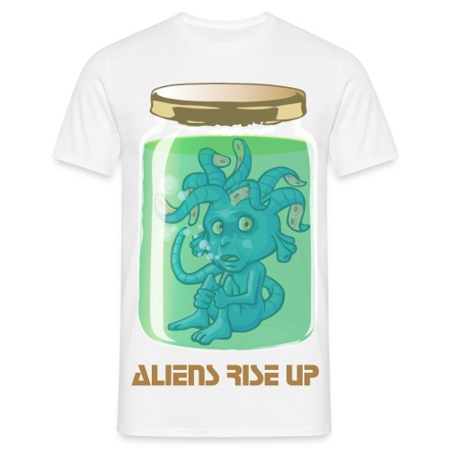 Aliens Rise Up - T-shirt Homme