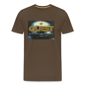 Quest Wolverhampton 30/09/95 flyer - Men's Premium T-Shirt