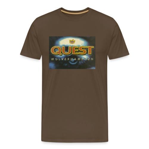 Quest Wolverhampton 30/09/95 flyer - Men's Premium T-Shirt
