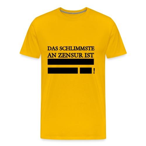 Männer T-Shirt - Männer Premium T-Shirt