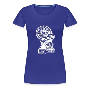 Les Cousins Ladies T-shirt (White Logo) - Women's Premium T-Shirt