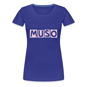 MUSO Girl  Blue - Women's Premium T-Shirt