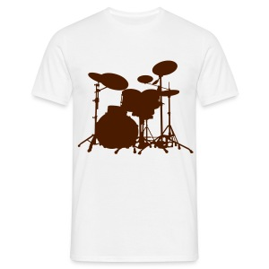 Drum Set - Men's T-Shirt