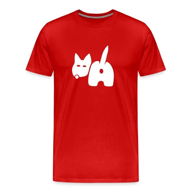 shirt hund dog vierbeiner puftie wauwau wedeln haustier pet leck mich tiershirt shirt tiermotiv fun shirt cool