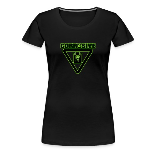 girls green - Women's Premium T-Shirt