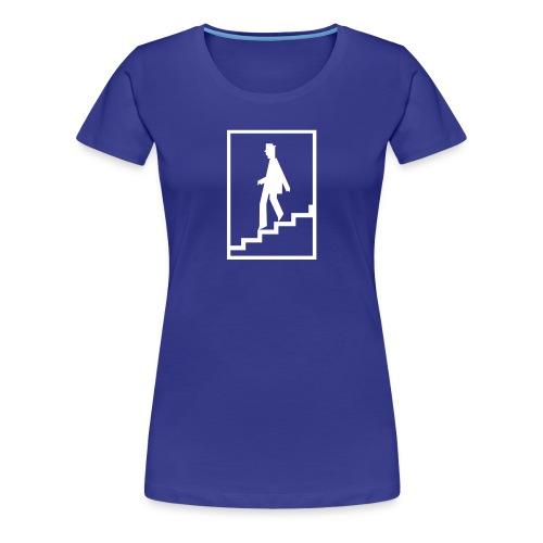 zur U-Bahn - Frauen Premium T-Shirt