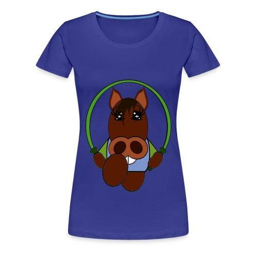 T shirt femme cheval - T-shirt Premium Femme