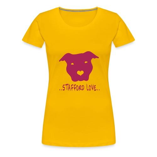 'Stafford Love' Womens Tee - Women's Premium T-Shirt
