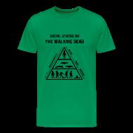 Camisetas ~ Camiseta premium hombre ~ The Walking Dead - social status