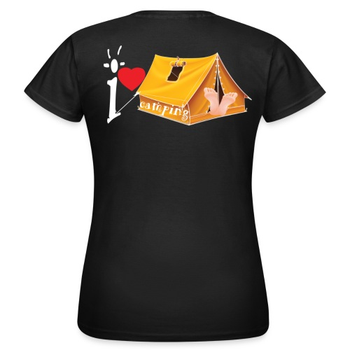I love Camping - T-shirt Femme