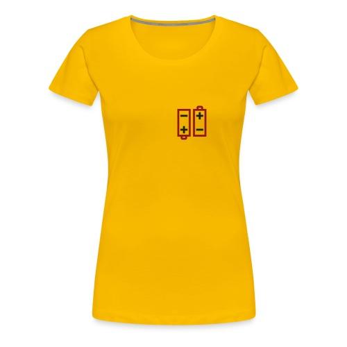Batteries not included - Frauen Premium T-Shirt