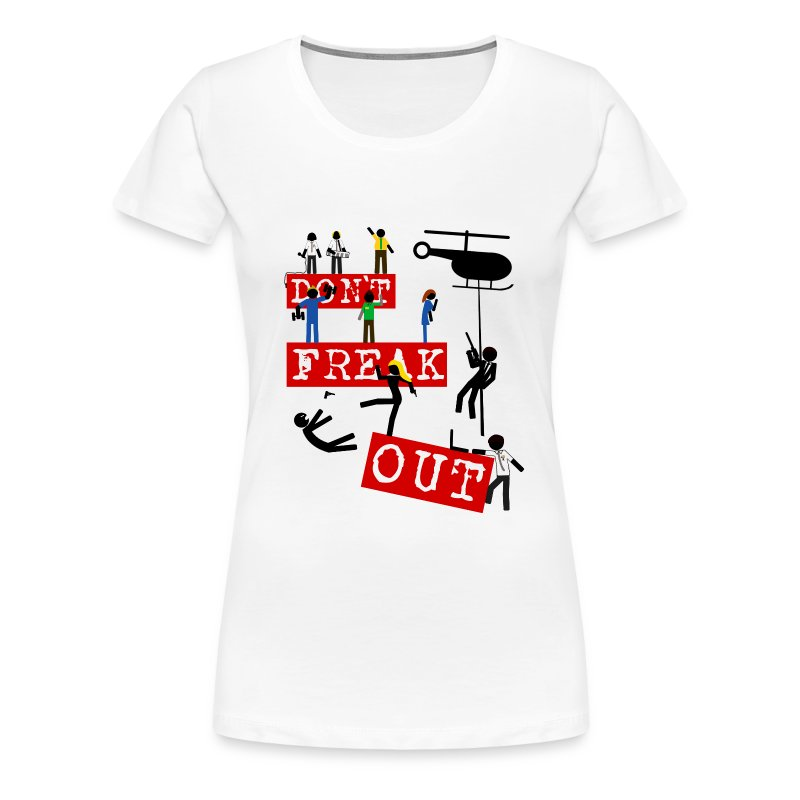 Chuck - don't freak out - Camiseta premium mujer