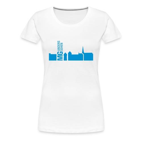 Übergrößenshirt - Frauen - Frauen Premium T-Shirt