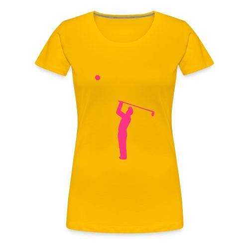 Golf1 - Women's Premium T-Shirt