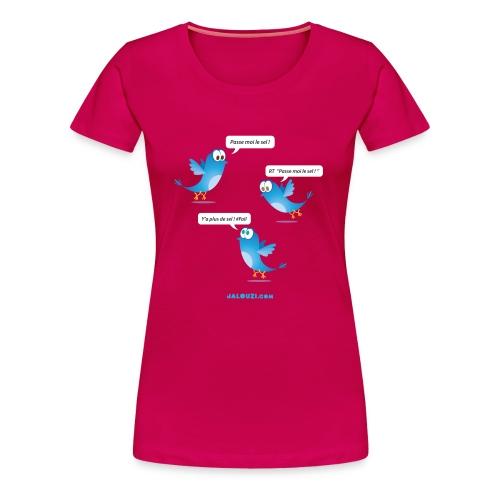 Passe moi le sel - T-shirt Premium Femme