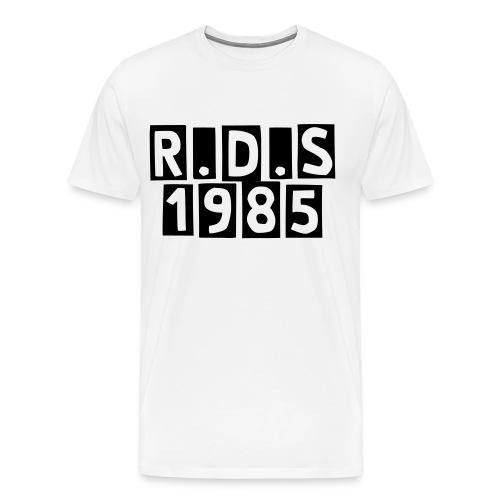 blocked, rds 85 - Men's Premium T-Shirt