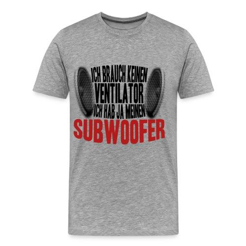 Subwoofer - Männer Premium T-Shirt