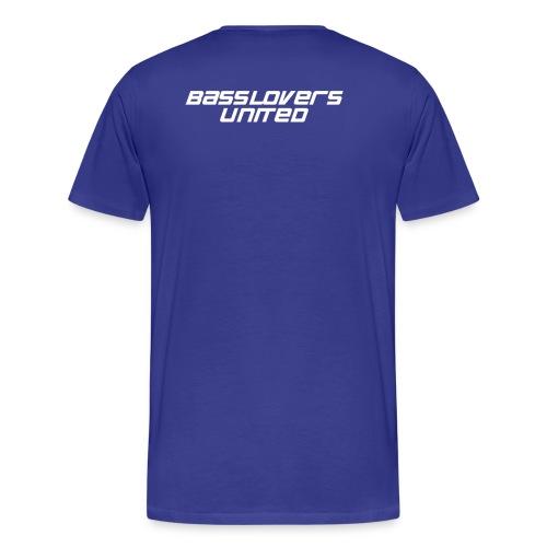 bluwhite - Männer Premium T-Shirt
