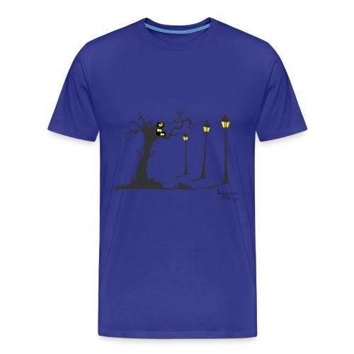 Bizzarra Creepy owls - Maglietta Premium da uomo