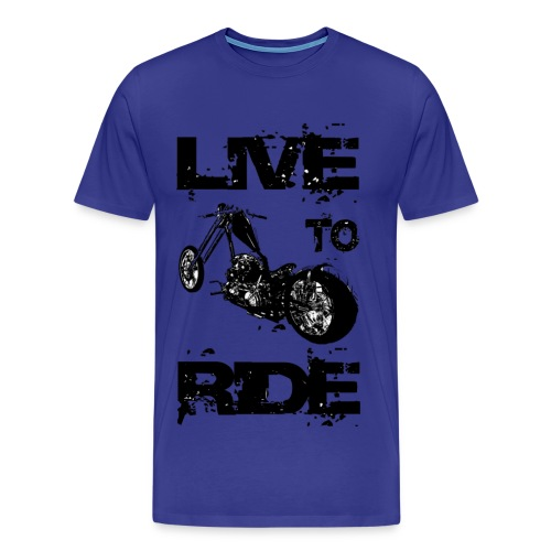 Live to Ride...By Kranft - T-shirt Premium Homme