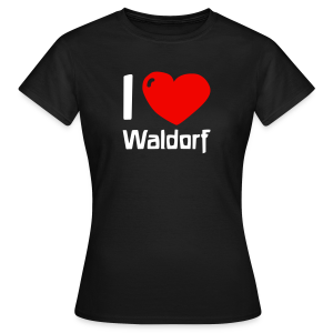 I love Waldorf - Frauen T-Shirt