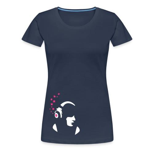 Mes étoiles. - Frauen Premium T-Shirt