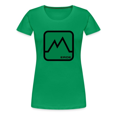 ELEMENTS - EARTH (WOMENS TIGHT FITTED T-SHIRT) - Women's Premium T-Shirt