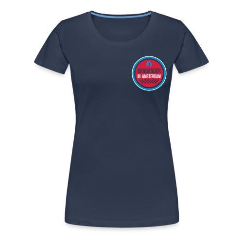 Cool Brabander in Amsterdam shirt! Dames - Vrouwen Premium T-shirt
