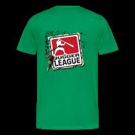 T-Shirts ~ Männer Premium T-Shirt ~ Jugger LigaLogo Splash