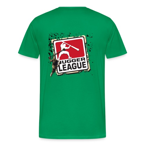 Jugger LigaLogo Splash - Männer Premium T-Shirt