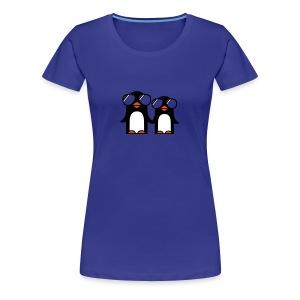 Stylische Eisbewohner(Tier Shirt) - Frauen Premium T-Shirt
