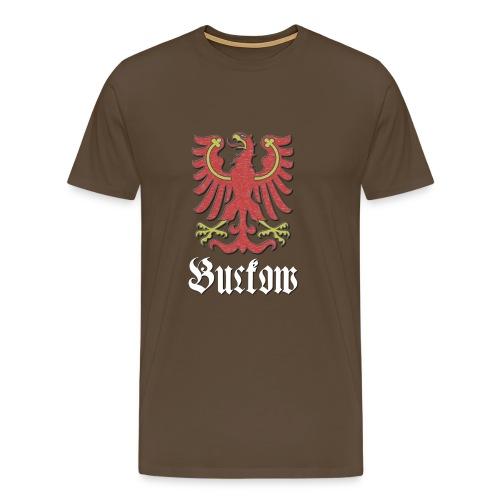T-Shirt Buckow mit Wappenteil des Berliner Bezirks Neukölln - Männer Premium T-Shirt
