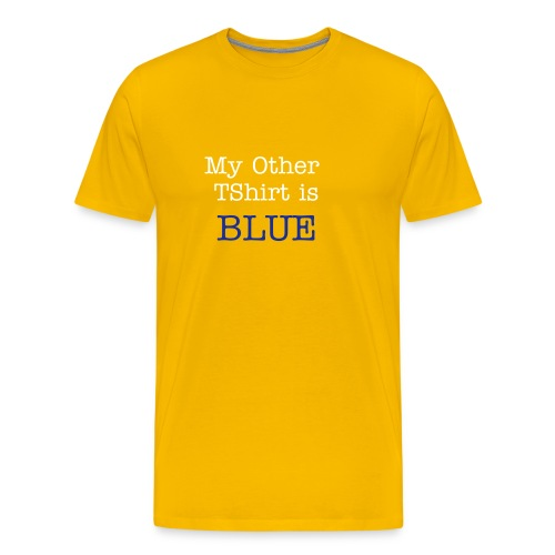 Other Blue - Men's Premium T-Shirt