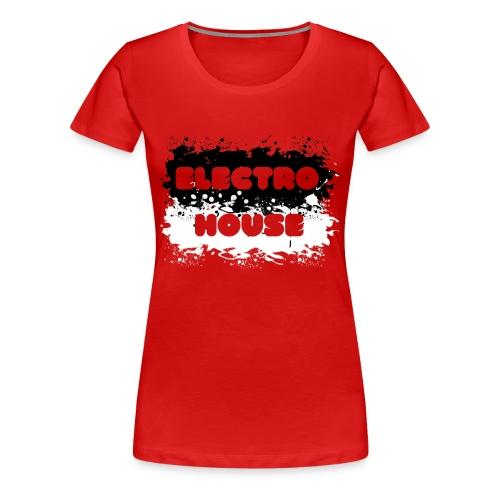 Electro House - Frauen Premium T-Shirt