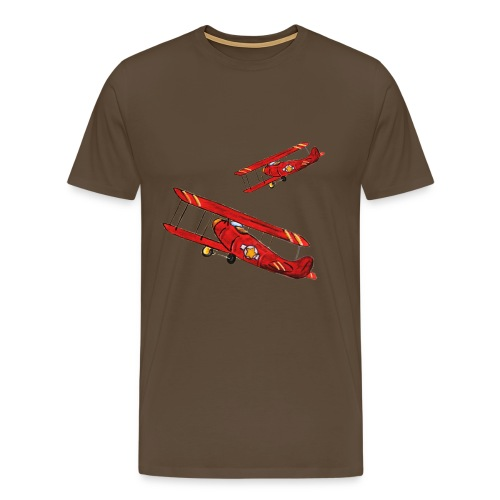 Flyver tee, klassisk tee - Men's Premium T-Shirt