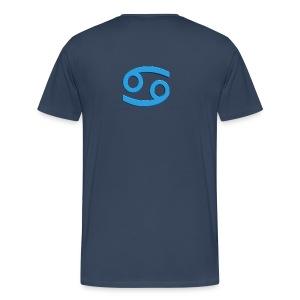 T-shirt uomo Cancro - Maglietta Premium da uomo