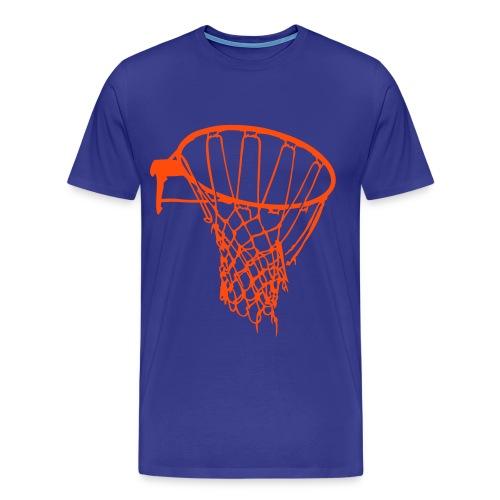 Basket Tee - Mannen Premium T-shirt
