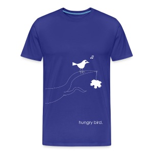 hungry bird. - Männer Premium T-Shirt