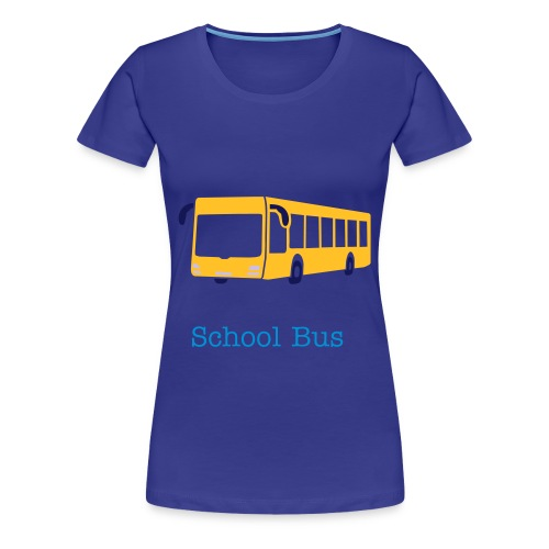 Frauen T-shirt School Bus - Frauen Premium T-Shirt