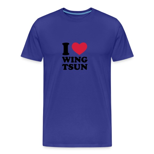 I Love Wing Tsun - Männer Premium T-Shirt