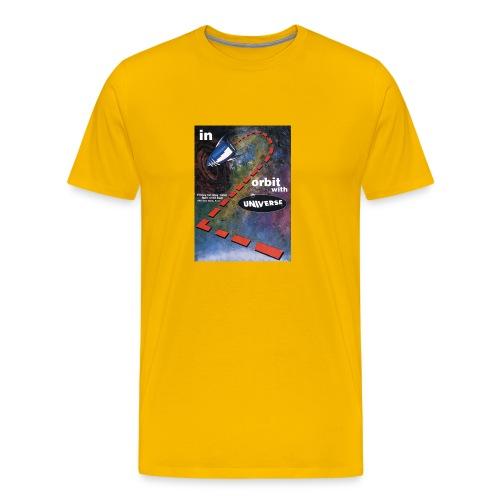 Universe Into Orbit Event Flyer - Men's Premium T-Shirt