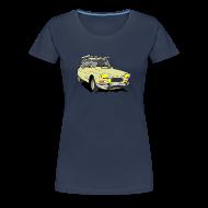 Tee shirts ~ T-shirt Premium Femme ~ AMI 8 BEIGE