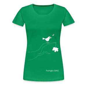 hungry bird. - Frauen Premium T-Shirt