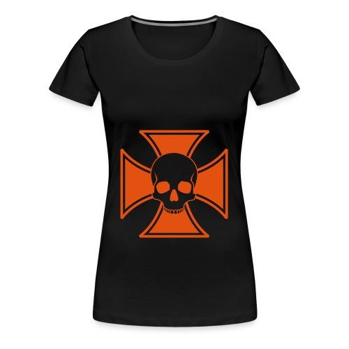 skull cross t-shirt - Women's Premium T-Shirt