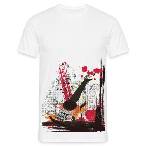 Q-STYLE Muziek - Mannen T-shirt