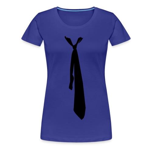 cravatta-donna - Maglietta Premium da donna
